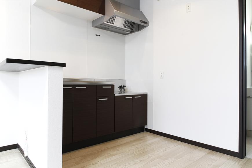 A2号室は壁付きのキッチンです!_MG_9272s