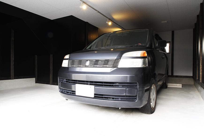 【A3号室】ガレージ使用例です!_MG_9373s