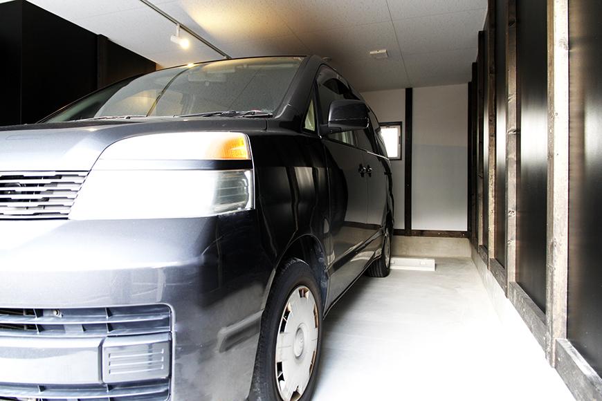【A3号室】ガレージ使用例です!_MG_9384s