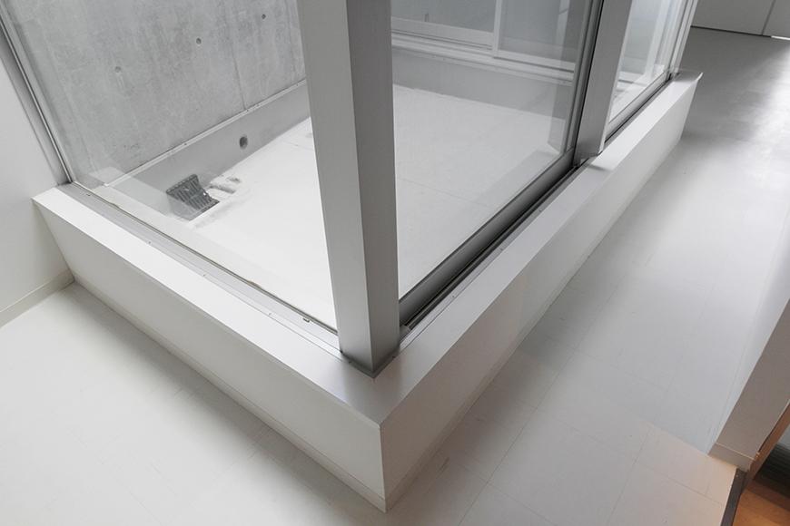 二階からの中庭・吹き抜けテラスです_MG_2264