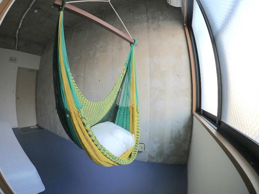 D-FLAT志賀本通 人気のハンモック個室