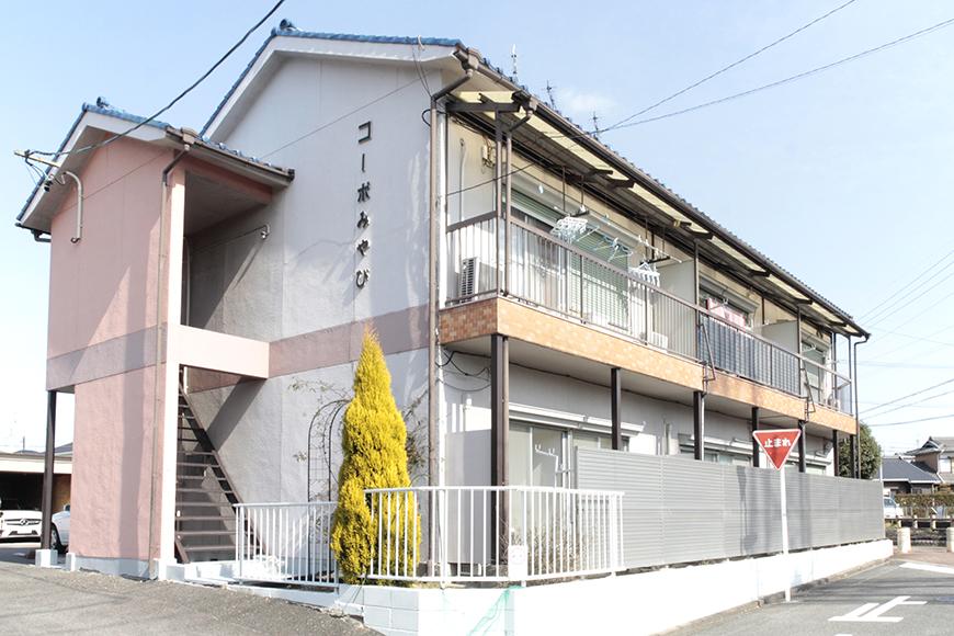 名古屋市南区にあります【コーポみやび】外観です_MG_3485