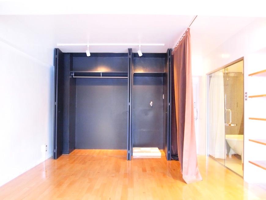 三鈴ノール 玄関とクローゼット