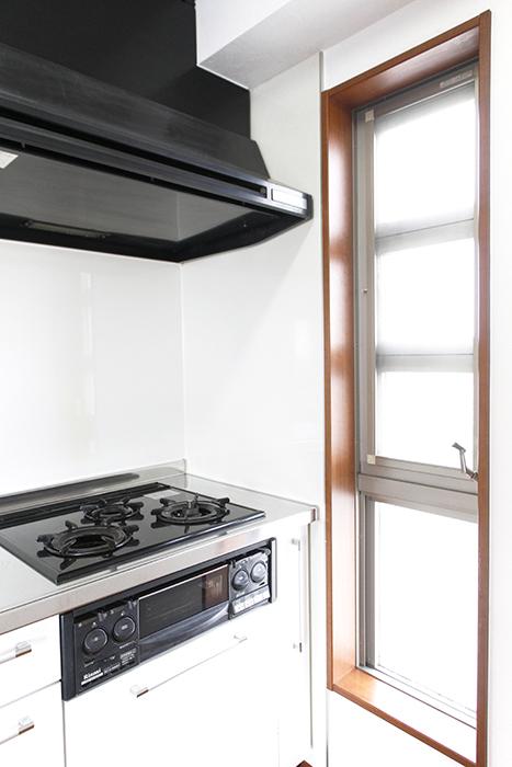 キッチンそばに窓があるってポイント高いですね!_MG_0525