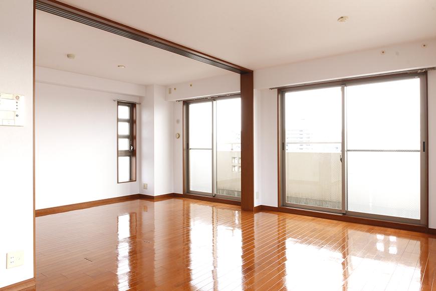 リビングと隣の洋室の大きな窓から、まばゆい光☆_MG_0604