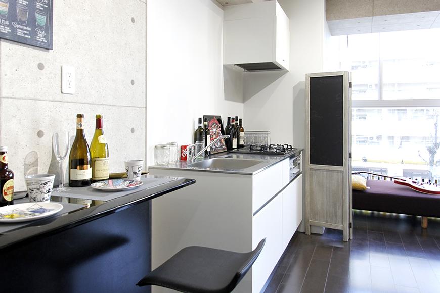 【Dタイプ:304号室】カッコイイ一人暮らしを☆ブルックリンスタイルのシンプルな1Rタイプのお部屋_MG_4683