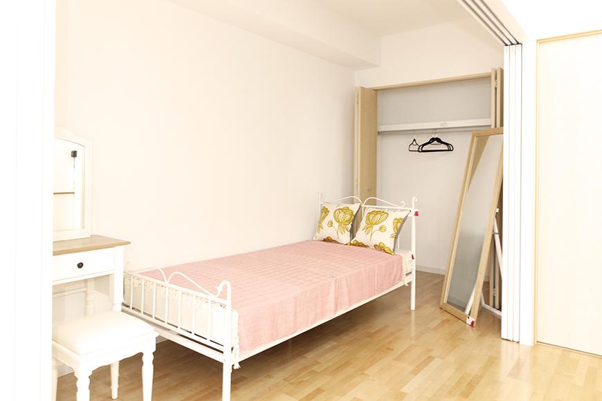 ベッドルームスペースです☆ 奥の方には大きな収納もバッチリ_MG_5060