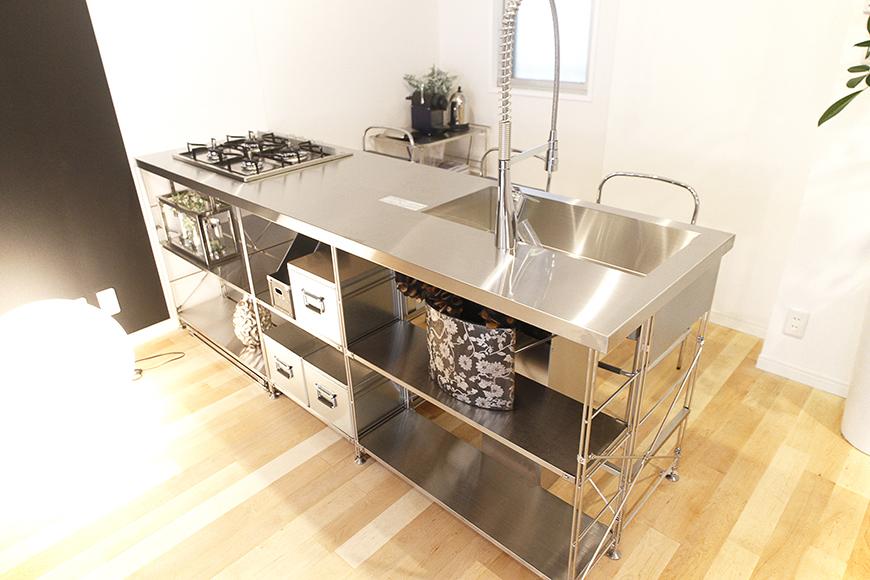 無印良品オリジナルのシステムキッチン☆この存在感!そのままインテリアとしても素敵な佇まい!_MG_9686