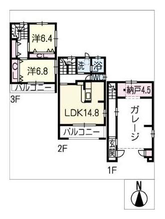 BGファミリア_間取図