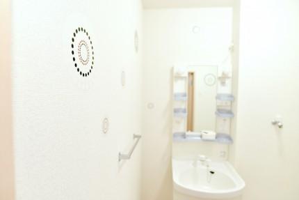 「清潔感のある洗面DSC_7279」
