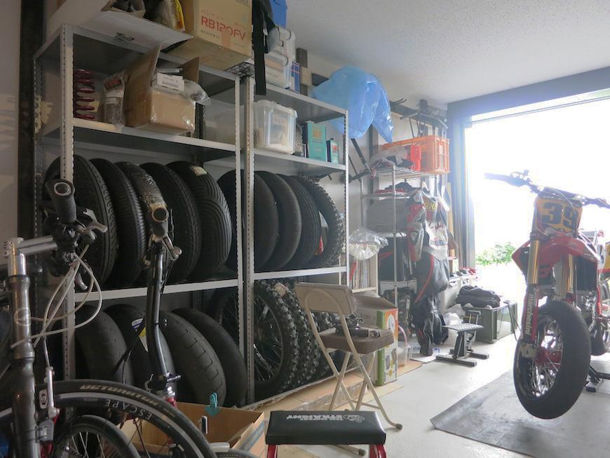 あなた好みのガレージに自由にメイクアップ♪