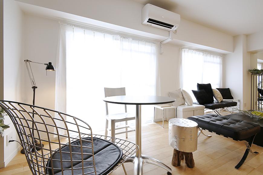 13帖のLDKは窓も大きくとられていて、白を基調としたモダンなお部屋は明るく広々☆_MG_8509