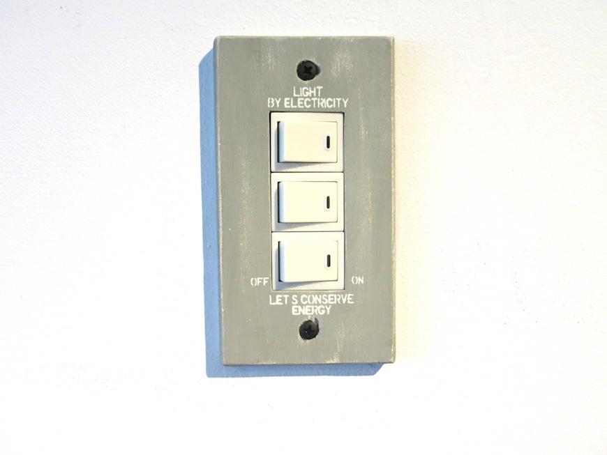 ビンテージ電気スイッチ_5577