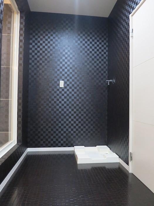 ホテルのような・・・脱衣スペース&洗濯置き場_5734
