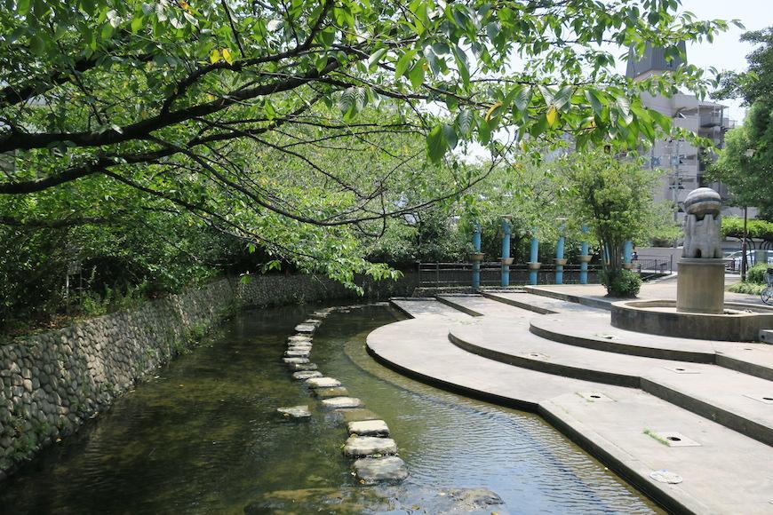 【八田 水の広場】緑と水に癒されます_IMG_0183
