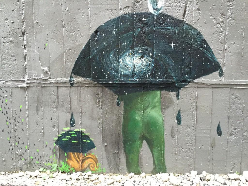 アコテパリジェンヌ_パリな感じの壁面アート_1137