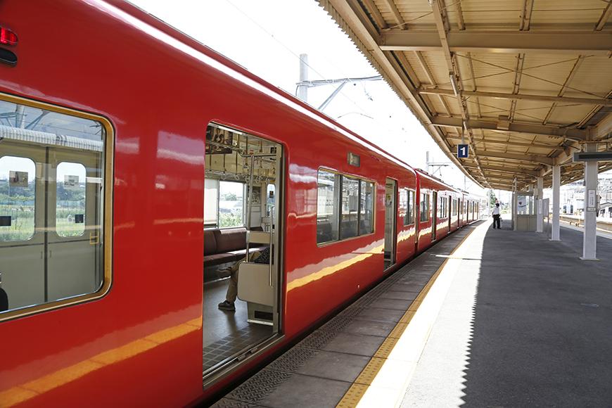 名鉄の赤い電車に乗ってやってきました♪_MG_2616