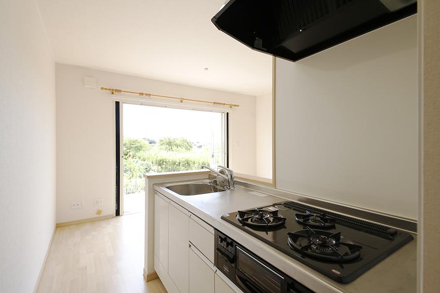 キッチンからの眺めです。  風の通りがとっても良いです!_MG_2673