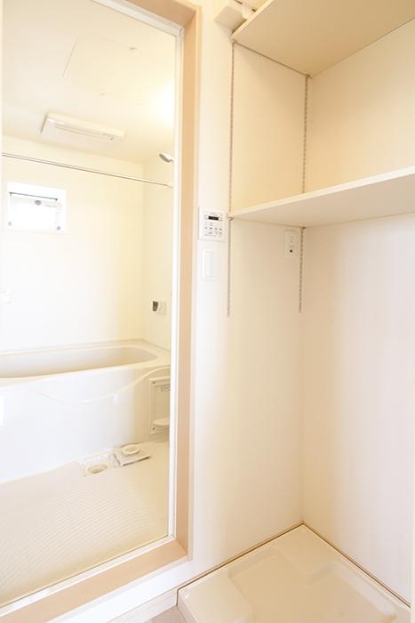 室内洗濯機置き場と、バスルーム☆_MG_2800
