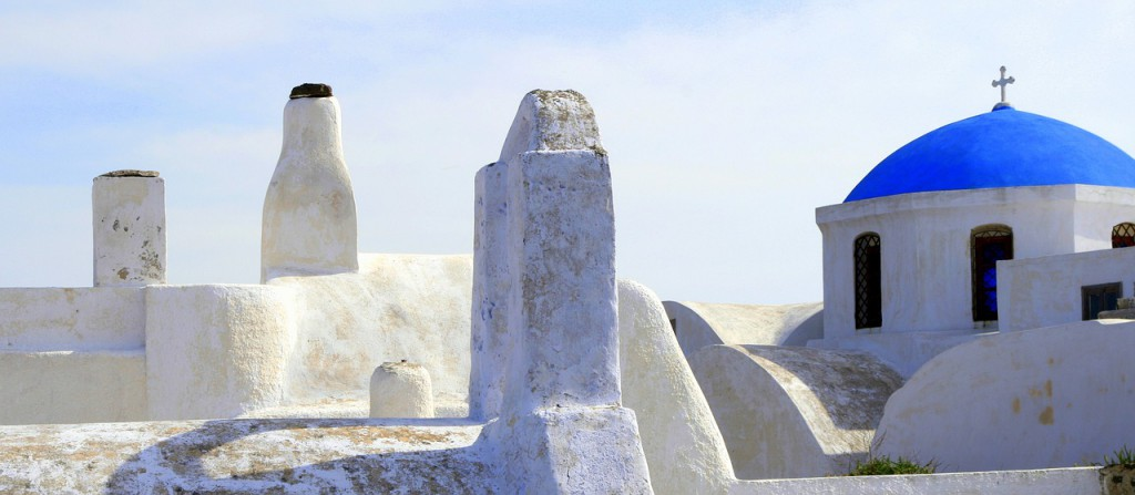 ギリシャ風な壁santorini-1062809_1280