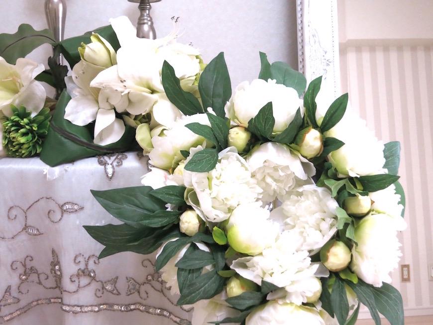 上品なお花が似合う部屋作りIMG_5939