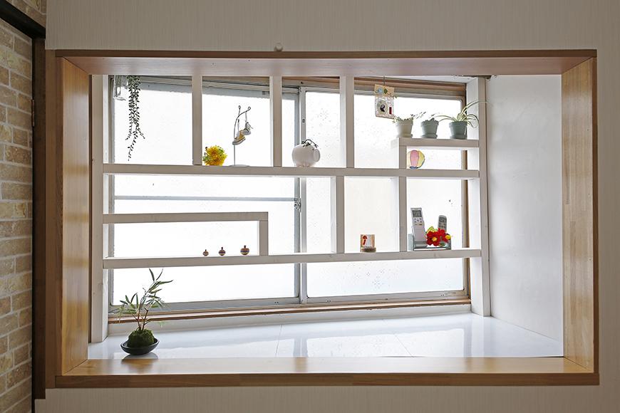 大きな窓に素敵な飾り棚♪遊び心満載☆_MG_0742