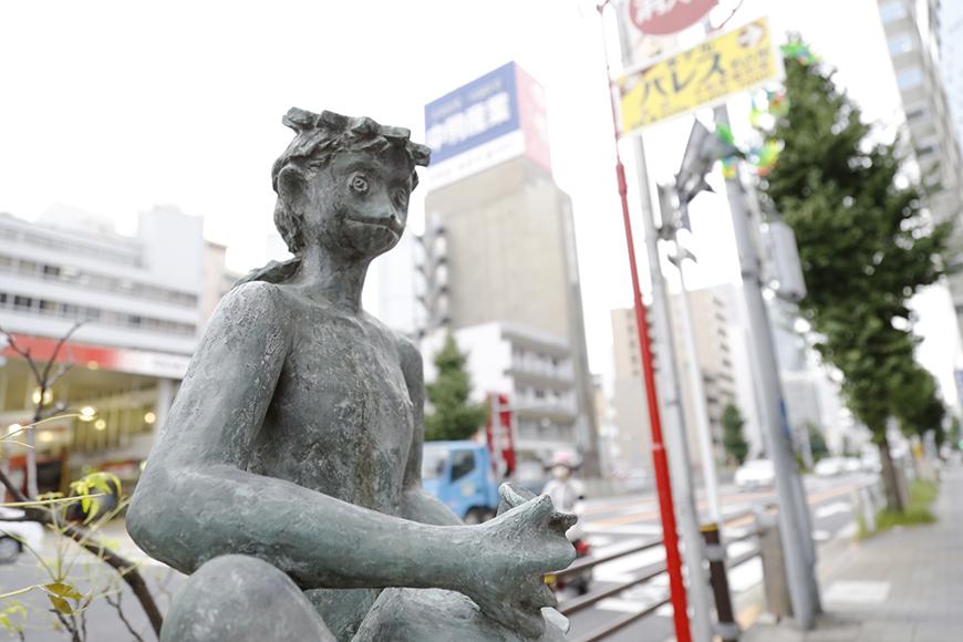 そんなカッパ商店街は当然カッパの銅像で溢れかえっています(大袈裟)_MG_1099