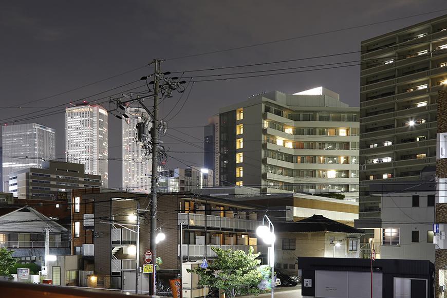 お部屋の窓から見える名古屋駅方面の夜景です_MG_1161s2