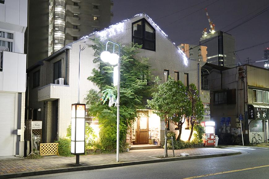夜になって『Four Seasons』さんがライトアップされるとまた一段とオシャレ!_MG_1165