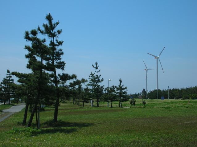 常滑 新舞子_ウィンドサーフィンの全国大会も行われる聖地は風車がシンボル♪212601