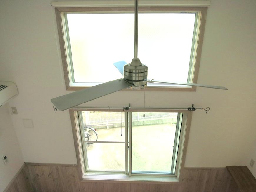 プリマは天井高・ファンで風を回す6647