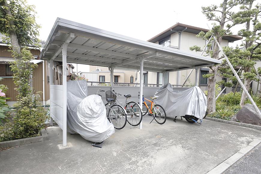 敷地内にあります駐輪場です_MG_8528