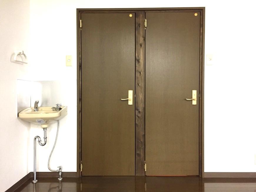 トイレ入り口。【呼明家スタジオ TASHIRO 1959】_1607