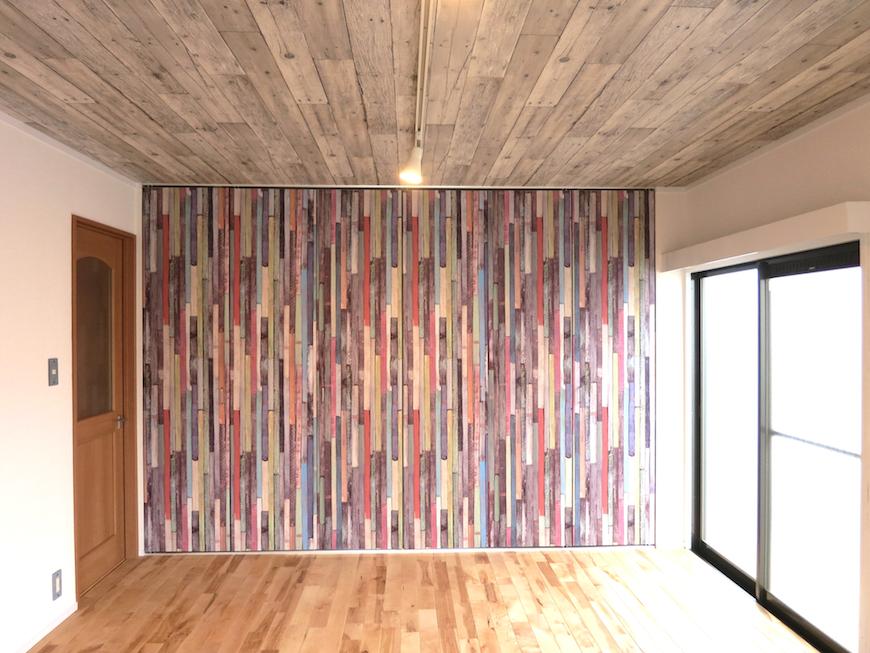 壁画のようなお部屋の壁♪美しい_6982