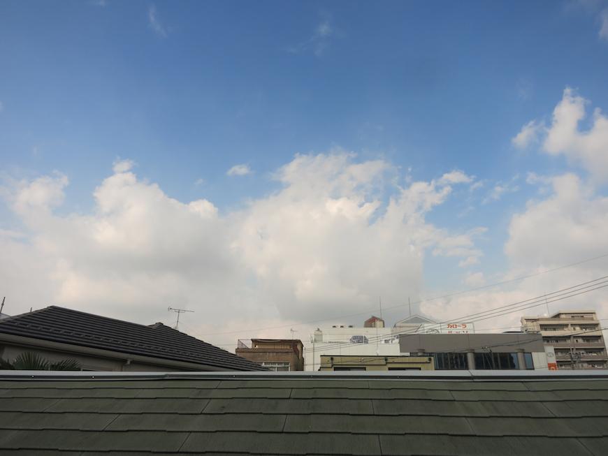 2階からの景色【呼明家(古民家)スタジオ TASHIRO 1959】_7401
