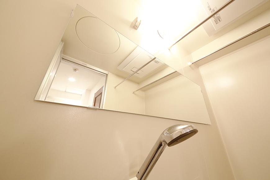 素敵!横長の鏡が設置されています!_MG_9446