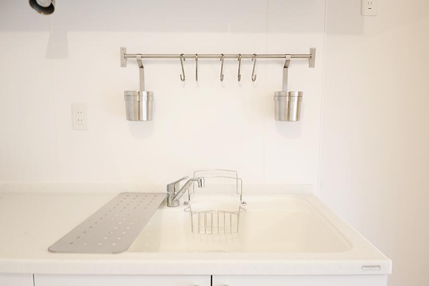 清潔感バッチリ!白を基調としたスッキリ・シンプルなシンク周り♪_MG_9919