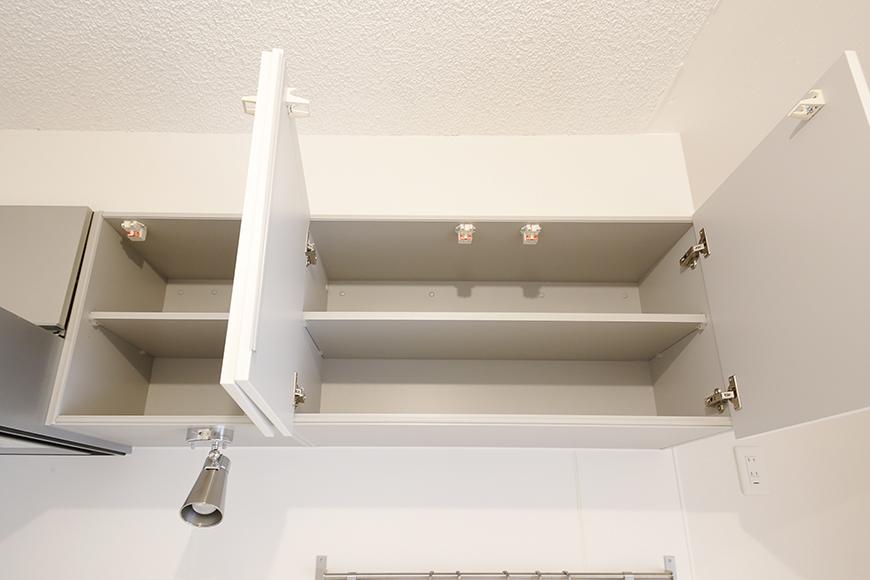 キッチン頭上の収納もバッチリです!_MG_9926