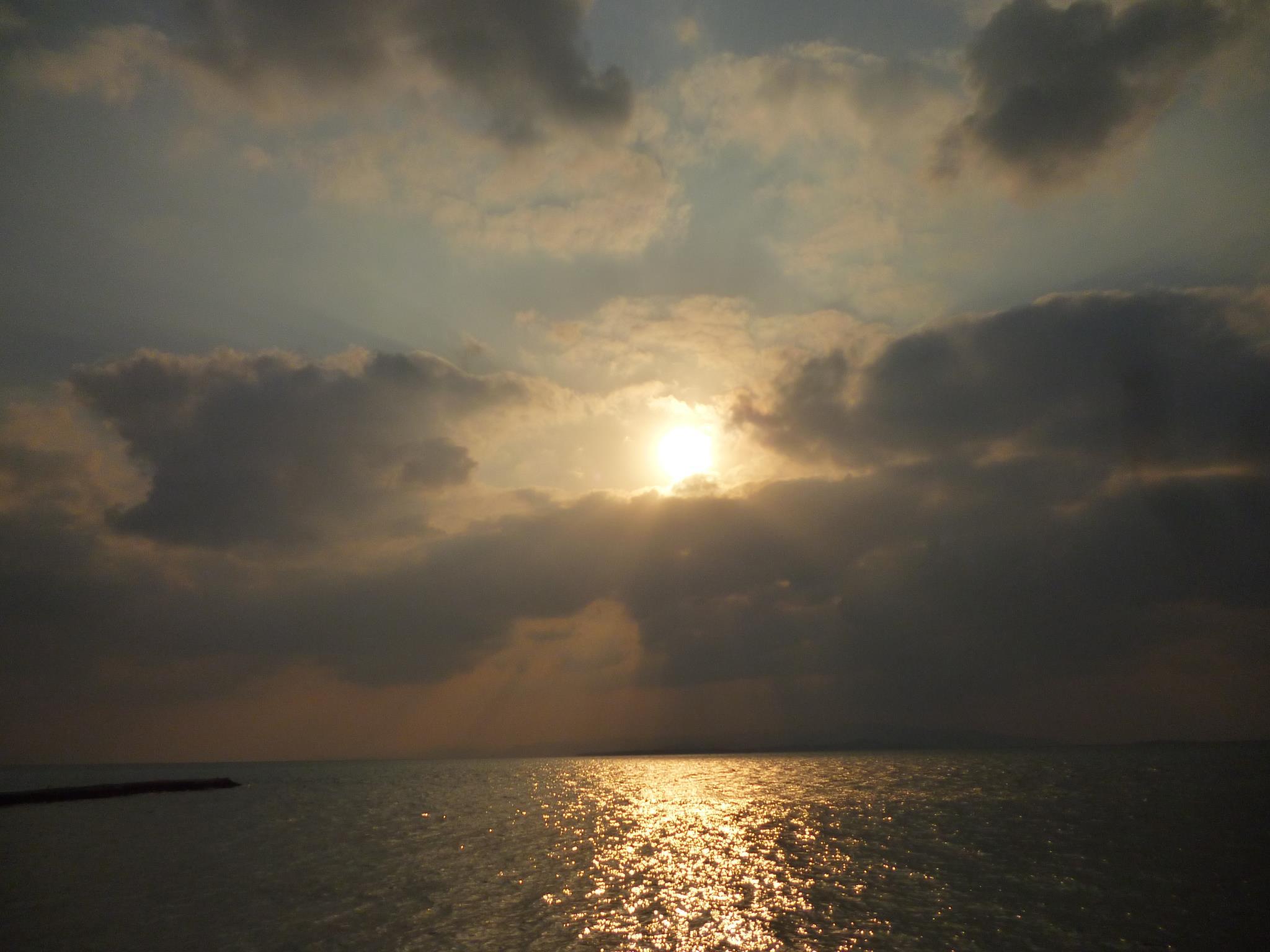 与那国島の夕焼け