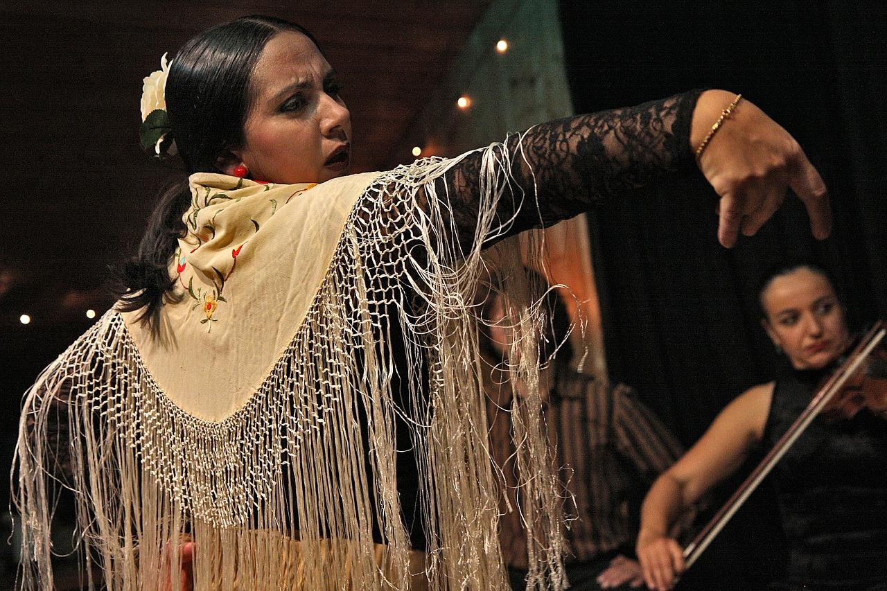 情熱的なフラメンコの踊り手。_flamenco-594272_1280