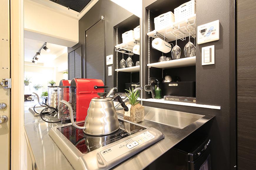 仕事中、無駄にコーヒーブレイクが増えそうな素敵なキッチン_MG_4541