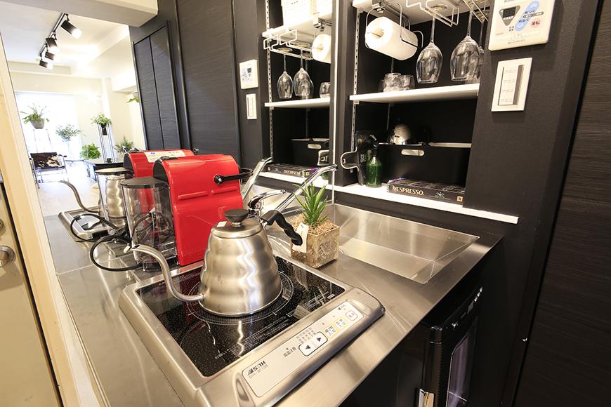 仕事中、無駄にコーヒーブレイクが増えそうな素敵なキッチン_MG_4537