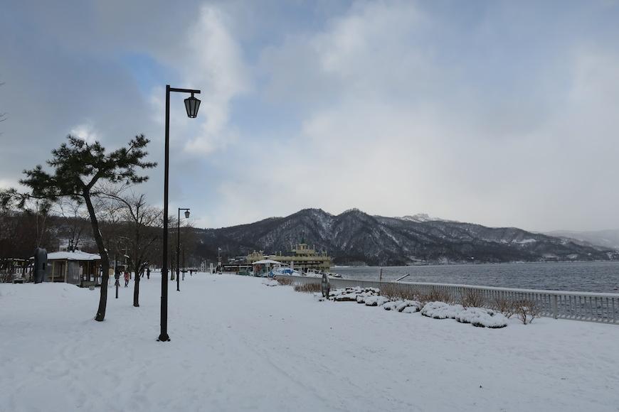 洞爺湖畔の雪景色_IMG_0324