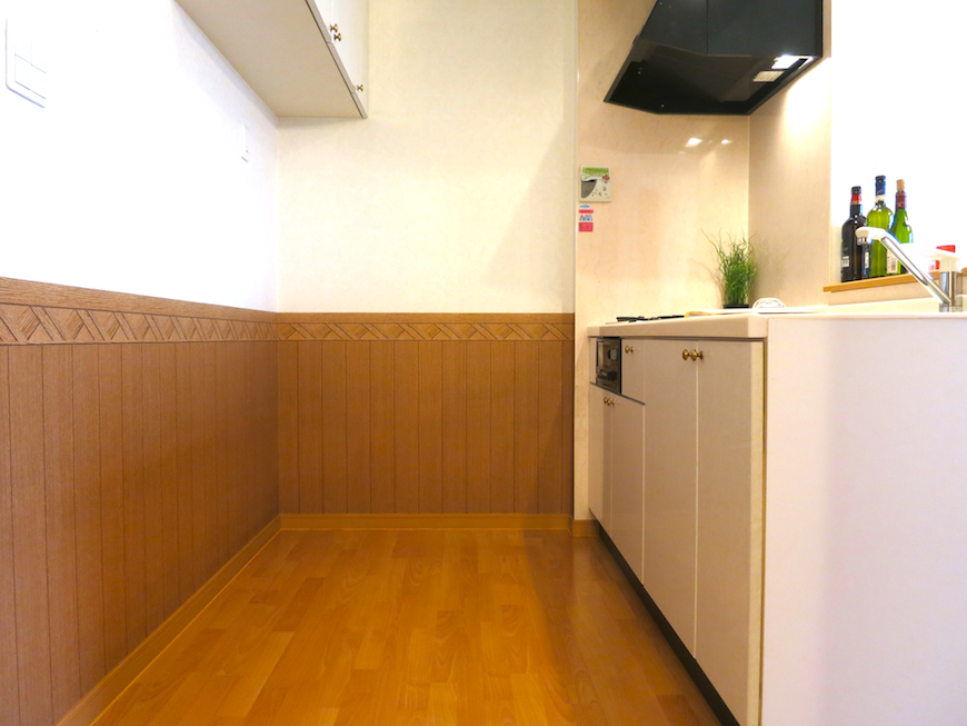 戸建て感漂う広いキッチン。虹と空とリベルテ(Liberte)と。優しい自由がある空間。_7742