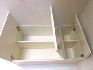 キッチン上部収納内側。_7748