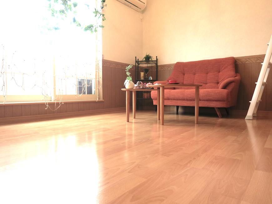 素朴と自然と柔らかさがる部屋_7835