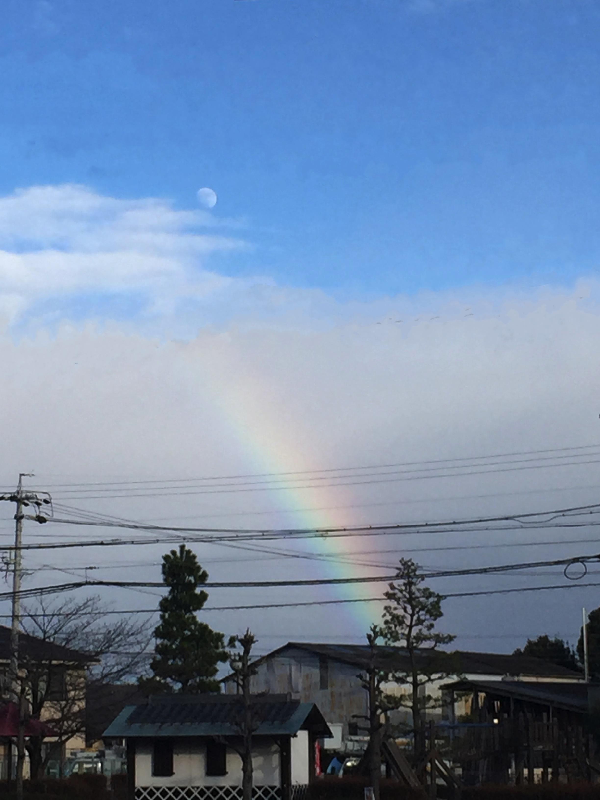リベルテ(Liberte)虹と青空。