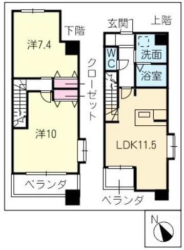 間取図_201号室_2