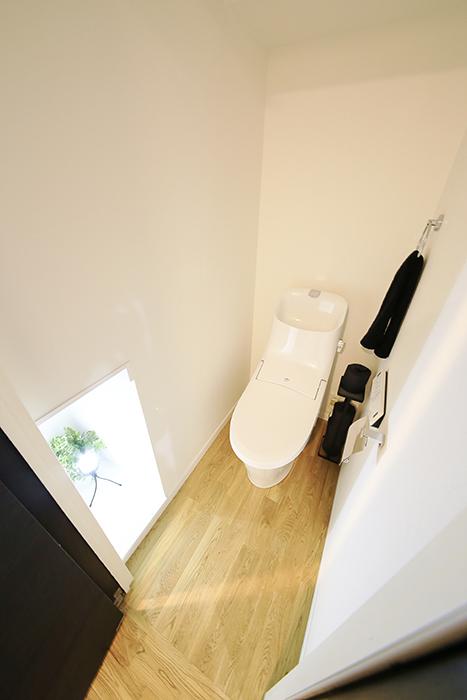 間接照明のトイレはとっても素敵でオシャレ♪_MG_4725
