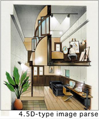 【2000 HOUSE】室内イメージ。